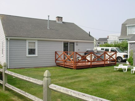 East Falmouth Cape Cod vacation rental - Back of the house