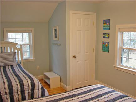 West Yarmouth Cape Cod vacation rental - Second floor twin bedroom with cable tv – perfect for kids