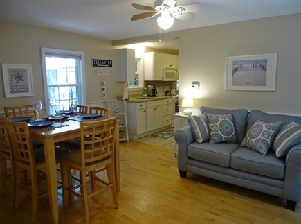 West Yarmouth Cape Cod vacation rental - Dining area leads to kitchen