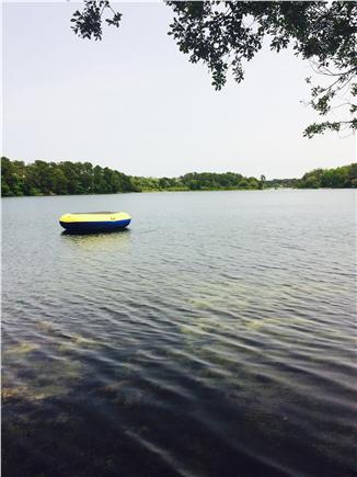 Harwich Cape Cod vacation rental - Joseph's Pond across the street