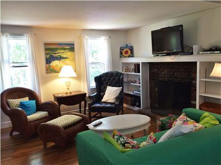 Harwich Cape Cod vacation rental - Living room is comfortable with two couches, and a 40'' TV!