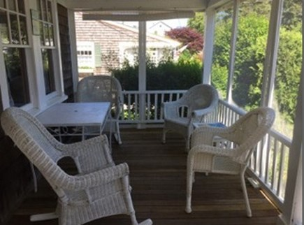 Harwich Port Cape Cod vacation rental - Relax on the front porch!!  Morning coffee time or fun lunches!