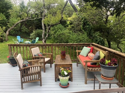 East Orleans Cape Cod vacation rental - Comfy seating on the deck
