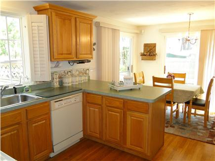 Dennis Cape Cod vacation rental - Bright dining area opens to back yard and deck