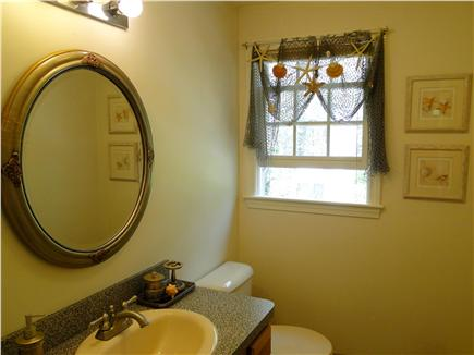 Dennis Cape Cod vacation rental - Newly refinished main floor half bath