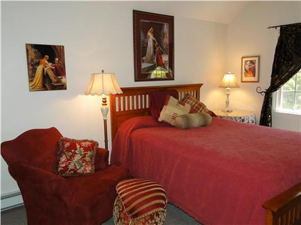 Dennis Cape Cod vacation rental - Queen master bedroom with TV