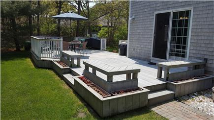 Chatham Cape Cod vacation rental - Backyard living & dining