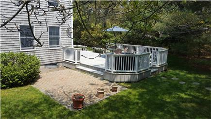 Chatham Cape Cod vacation rental - Stone patio on south side of house