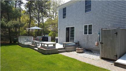 Chatham Cape Cod vacation rental - Backyard with outdoor shower