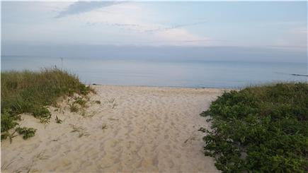 Chatham Cape Cod vacation rental - Pleasant Street Beach: entry from Pleasant St parking area