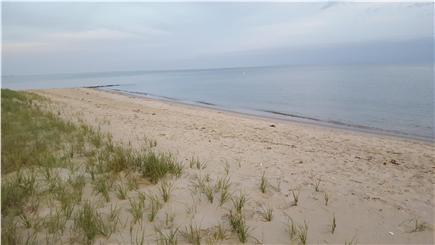 Chatham Cape Cod vacation rental - Pleasant St Beach: Nantucket Sound view toward Monomoy Island