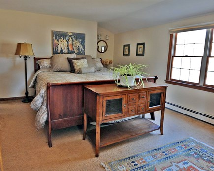 Eastham Cape Cod vacation rental - King size bedroom on second floor of the house.