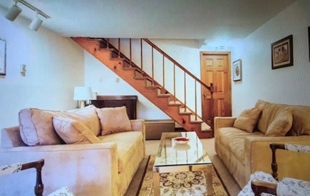 Eastham Cape Cod vacation rental - Entry family room with two twin sleepers and comfortable space.