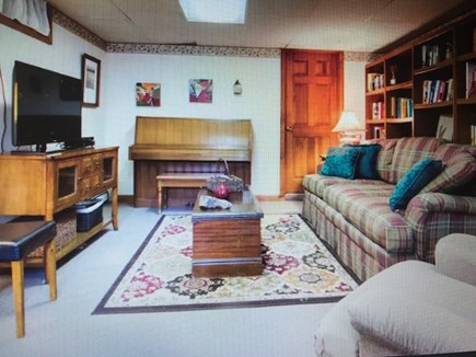 Eastham Cape Cod vacation rental - The Game Room.  Play games, watch a video or host talent night!!