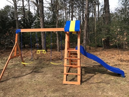 Eastham Cape Cod vacation rental - New swing set, 2019, for the little ones to enjoy.