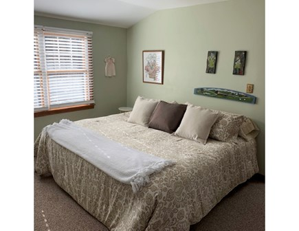 Eastham Cape Cod vacation rental - Bedroom with king size bed on the second floor.