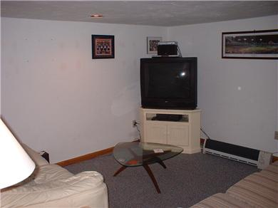 West Yarmouth Cape Cod vacation rental - Extra room in basement/TV & two pullout sleeper couches