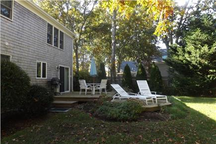 West Harwich Cape Cod vacation rental - Large, private back yard