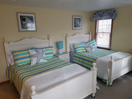 West Harwich Cape Cod vacation rental - First floor bedroom with two twins