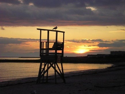West Harwich Cape Cod vacation rental - Glorious beach sunset