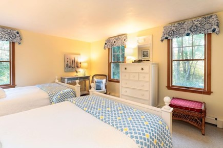 West Harwich Cape Cod vacation rental - 1st floor bedroom with 2 full beds
