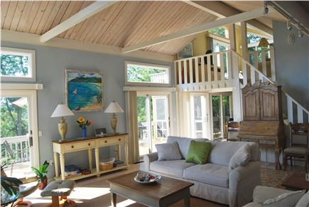 Summersea area of New Seabury New Seabury vacation rental - View of Loft Area from Living Area