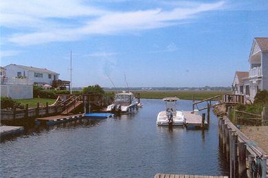 South Yarmouth Cape Cod vacation rental - Dock your boat right at your door!!