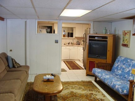 Brewster Cape Cod vacation rental - Downstairs kitchen and living room
