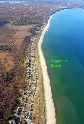 Sagamore Beach, Sandwich  Sagamore Beach vacation rental - 4-5 miles of beach, a true walking beach