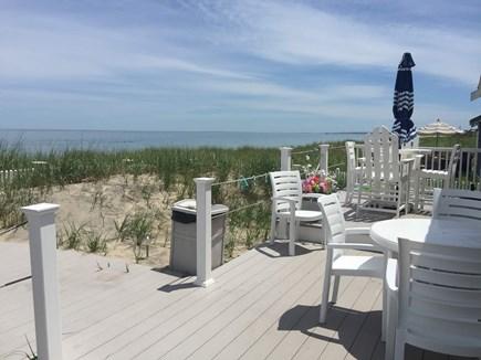 Sagamore Beach, Sandwich  Sagamore Beach vacation rental - Ample seating on wrap around deck work spectacular views