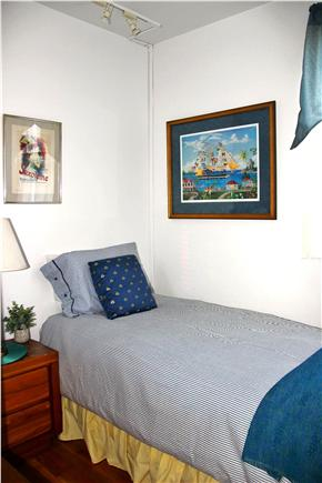 Wellfleet Harbor, on the Bluff Cape Cod vacation rental - Single twin bedroom. Main floor, near full bathroom.