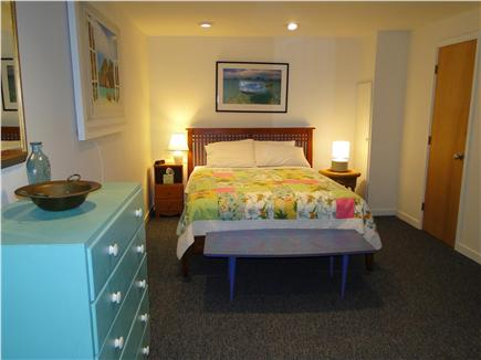 Wellfleet Harbor, on the Bluff Cape Cod vacation rental - Queen bedroom downstairs with private side entrance