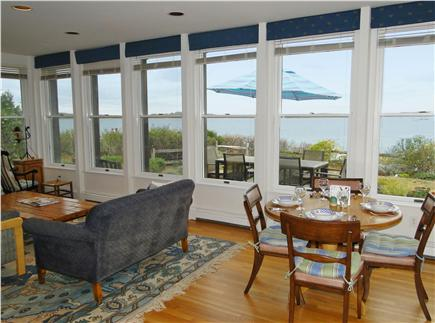 Wellfleet Harbor, on the Bluff Cape Cod vacation rental - Spectacular ocean views from the spacious living area