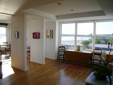 Wellfleet Harbor, on the Bluff Cape Cod vacation rental - Turn toward the front of the house and the Bay Views.
