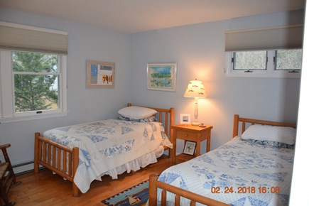 Wellfleet Cape Cod vacation rental - Twin bedded room