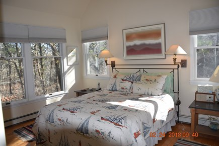 Wellfleet Cape Cod vacation rental - Master bedroom with queen size bed