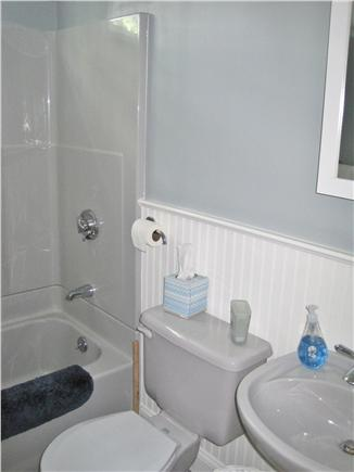 Falmouth Cape Cod vacation rental - First-floor bathroom with rain showerhead