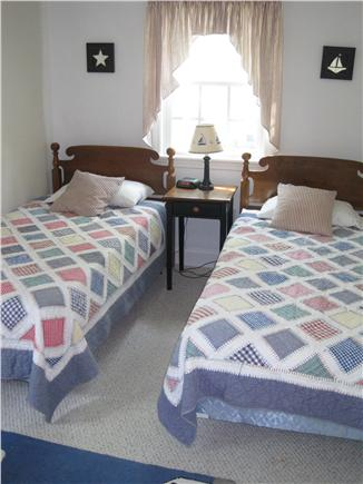 Falmouth Cape Cod vacation rental - Second floor triple twin bedroom