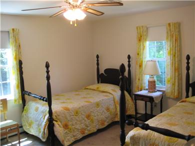 East Orleans Cape Cod vacation rental - Twin bedroom - downstairs