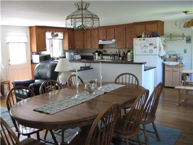 East Orleans Cape Cod vacation rental - Open plan for DR/FR/Kitchen w/granite countertops