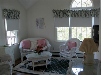 East Orleans Cape Cod vacation rental - Master bedroom sitting area - upstairs