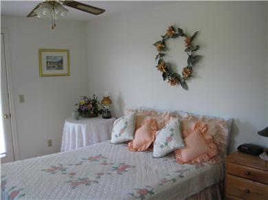 East Orleans Cape Cod vacation rental - Queen bedroom w/outside deck - upstairs