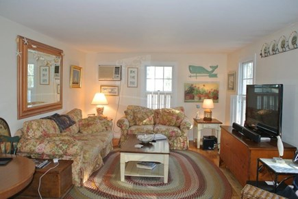 Mashpee, Popponesset/New Seabury/Mashpe Cape Cod vacation rental - Large and sunny living area with air conditioning