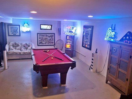 Popponesset/New Seabury  Cape Cod vacation rental - Rain? No problem. Play a game of pool in the basement Rec room.