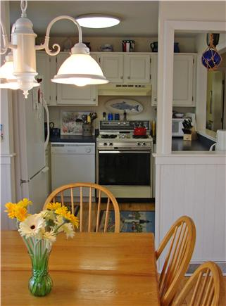 Mashpee, Popponesset/New Seabury/Mashpe Cape Cod vacation rental - Convenient dining area seats six with access to back deck