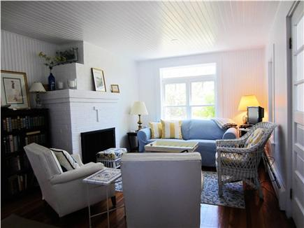 Harwich Port Cape Cod vacation rental - Living Room has flat screen TV