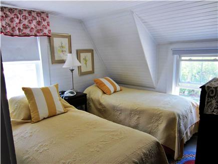 Harwich Port Cape Cod vacation rental - Bedroom 1 of 3----w/king bed or two twins has harbor view