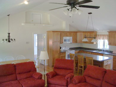 West Dennis Cape Cod vacation rental - Great Room