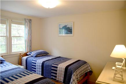 North Eastham Cape Cod vacation rental - 2nd of 3 bedrooms (two twin beds)