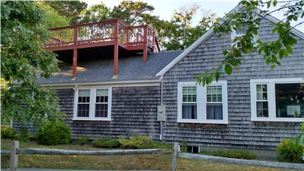 South Chatham Cape Cod vacation rental - Pleasant Street View of Rooftop Deck With Water View